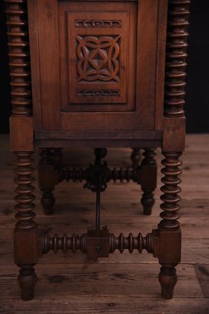 アンティーク サイドボード フレンチ 木製 スパニッシュ