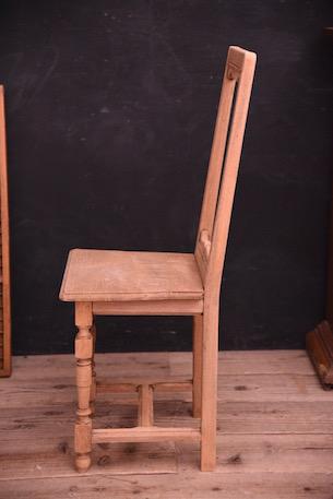 アンティーク 木製 ダイニングチェア フレンチ