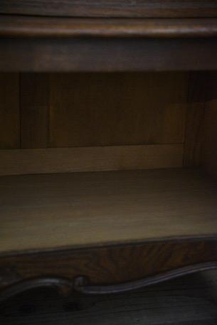アンティーク 猫脚 キャビネット フレンチ カップボード