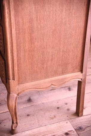 アンティーク フレンチ 3段チェスト 猫脚 剥離