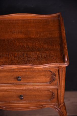 アンティーク ベッドサイドテーブル フレンチ 猫脚 ドロワー