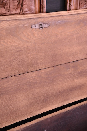 アンティーク 剥離 フレンチ トランク 木製 木箱