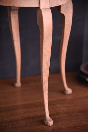 アンティーク 猫脚 ディスプレイスタンド 花台 フレンチ