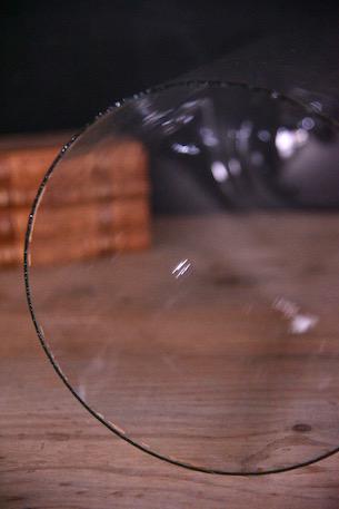 アンティーク ラウンド ガラスドーム フレンチ ディスプレイ