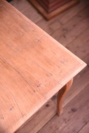 アンティーク 猫脚 ドロワーテーブル ダイニング フレンチ