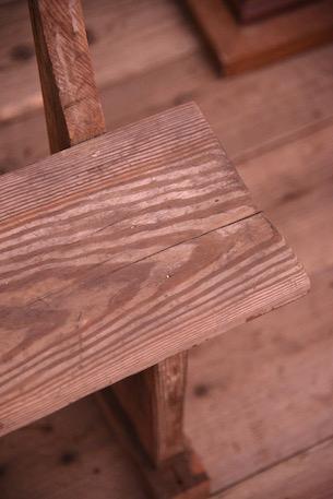 アンティーク 剥離 ベンチ 木製 フレンチ ダイニング