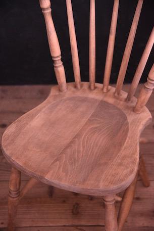 アンティーク 木製チェア ダイニング フレンチ 剥離