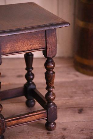 アンティーク 木製 サイドテーブル フレンチ イギリス
