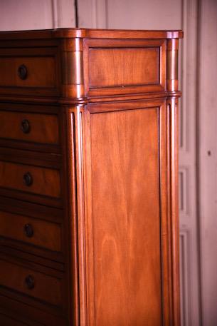 アンティーク フレンチ 8段 チェスト チェストドロワー ルイ16世