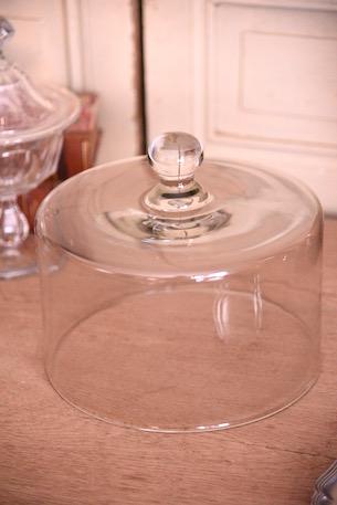アンティーク ガラスドーム ケーキドーム フレンチ チーズドーム