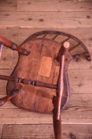 アンティーク 木製 ダイニングチェア フレンチ イギリス 1