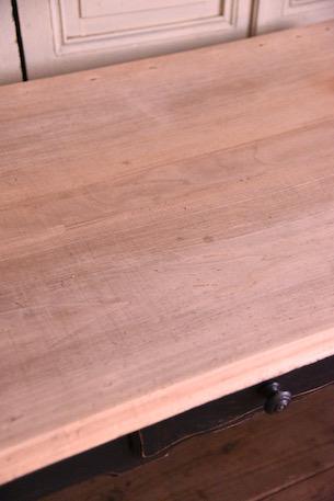 アンティーク ペイント ドロワーテーブル ダイニングテーブル フレンチ