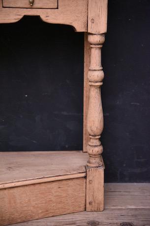 アンティーク コンソール サイドテーブル フレンチ ドロワー