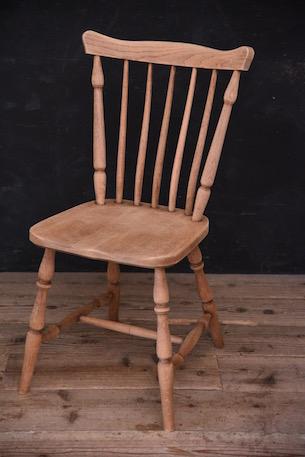 アンティーク ダイニング チェア フレンチ 剥離 木製 椅子 1