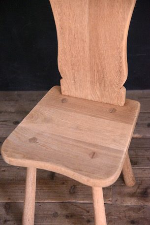 アンティーク 剥離 チェア ダイニング 飾り フレンチ 椅子 3