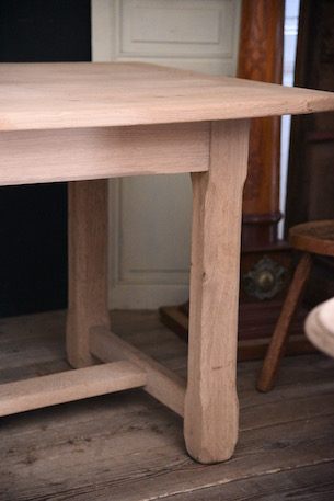 アンティーク 剥離 ダイニングテーブル 飾り台 フレンチ ファームテーブル