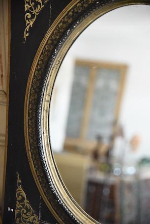 アンティーク ナポレオン ウォールミラー フレンチ