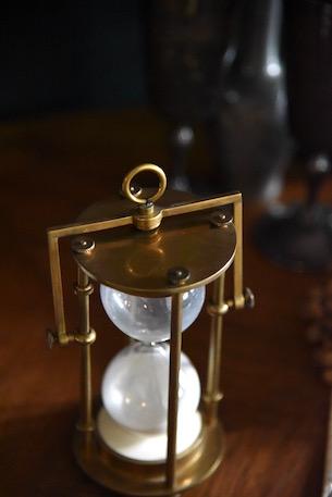 アンティーク 砂時計  フランス