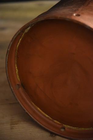 アンティーク  ミルク缶  傘立て  コッパー  フランス