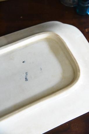 アンティーク  陶器  フランス  プレート