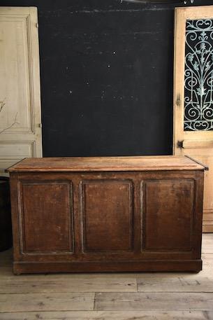 アンティーク フレンチ 木製 カウンター ショップカウンター