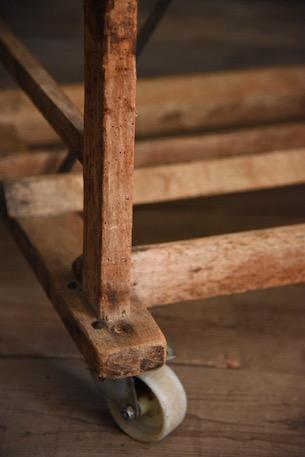 アンティーク  ベーカリーラック  木製