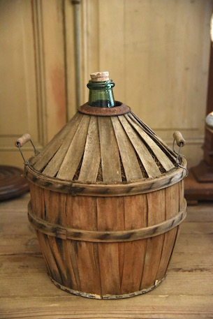 アンティーク  デミジョンボトル  フランス ワインボトル