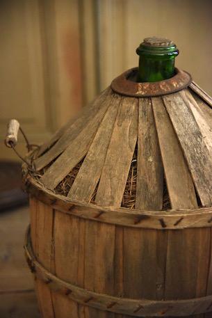 アンティーク  ワインボトル  デミジョンボトル  フランス