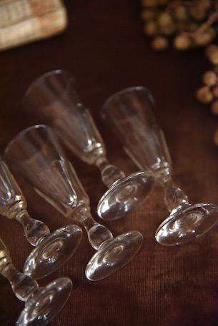 アンティーク  リキュールグラス グラス フランス