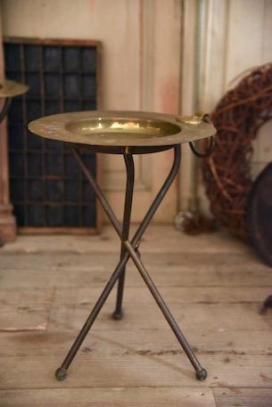 アンティーク  ワインテーブル  ブラス  フランス