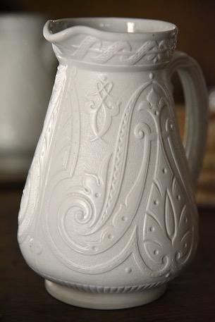 アンティーク イギリス 陶器ジャグ
