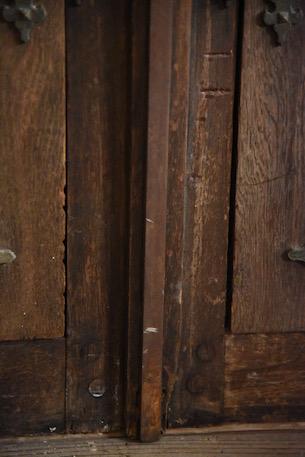 アンティーク  グレモン錠  窓  扉付き窓  フランス
