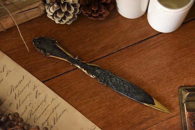 アンティーク  ペーパーナイフ  フランス