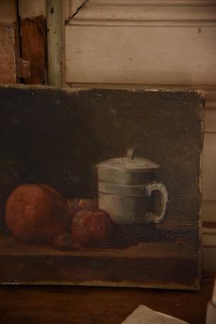 アンティーク  絵画  フランス