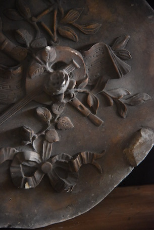 アンティーク  プラスターモールド  鋳型  石膏  フランス
