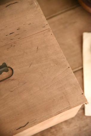 アンティーク ウッドボックス 木製 フランス