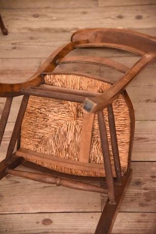 アンティーク  プレイチェア  椅子  チェア  フランス