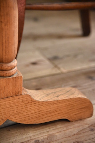 アンティーク 木製 カフェテーブル フレンチ ビストロテーブル