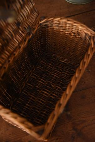 アンティーク  パニエバスケット  フレンチ