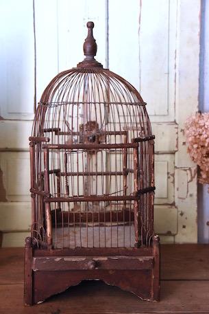 アンティーク 鳥かご フランス