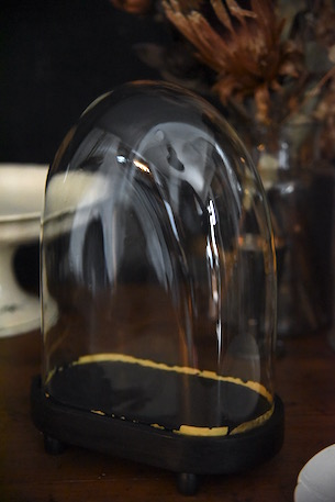 アンティーク ガラスドーム フレンチ 小 3