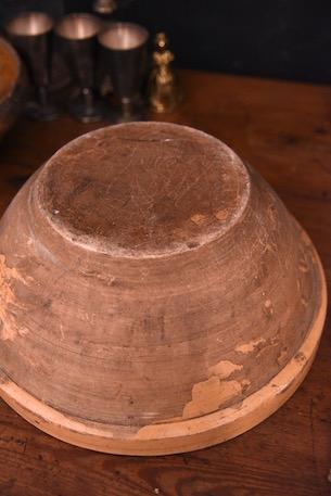 アンティーク すり鉢中 焼き物
