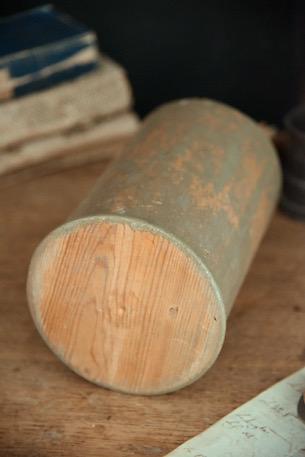 アンティーク 木製 薬品ボトル HERB.GRATIOLAE