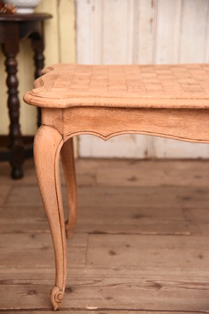 アンティーク コーヒーテーブル 剥離 猫脚