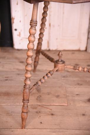 九角形 カフェ テーブル アンティーク フランス