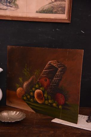 絵 絵画 静物画 フランス アンティーク