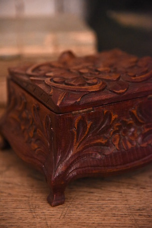木製 ボックス 箱 フランス アンティーク