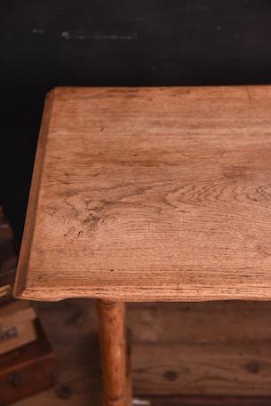 カフェテーブル 木製 剥離 アンティーク フランス