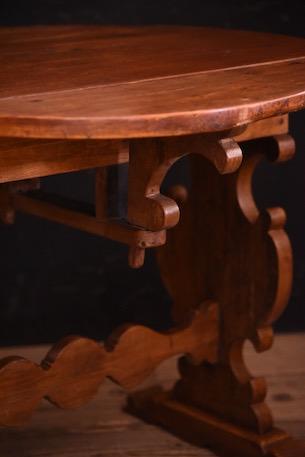 テーブル 木製 アンティーク フランス ベルギー