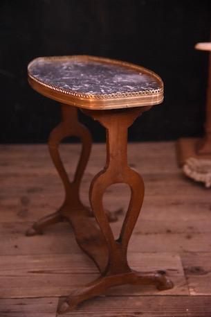 大理石 サイドテーブル  フランス アンティーク
